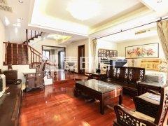 东边户双拼别墅,地下一地上三层,全红木装修,随时看房,有钥匙