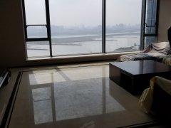商联中心 全线江景 豪华装修大三房 家电家具全带 有钥匙 急