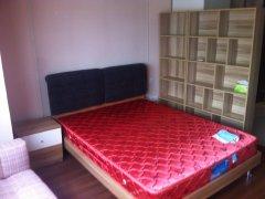 万达广场精装修单身公寓包物业包宽带拎包入住