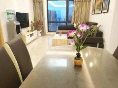 同德昆明广场2室、全套家具家电齐全 公司直租 可月付。