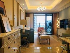 比亚迪旁心海城大楼盘精装3房出租,可空房和配齐出租,价格美丽