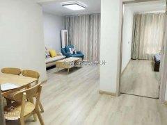 万达对面通江花园精装两房中间楼层100平方水电齐租2600元