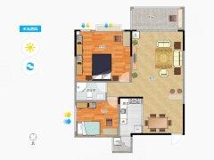 低楼层 2房1厅 拎包入住