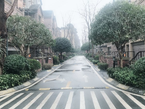 廊橋水鄉戶型圖實景圖片