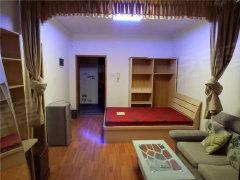 天明路东风路天旺广场,同乐花园,精装电梯一室,家电家具齐全!