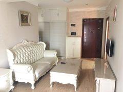 广电周边藏珑国际花园一室一厅带全套家具家电,可短租