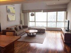 国贸少有跃层户型, 客厅层高6米,精致装修,高层景观好户型棒
