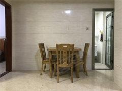 金枋世家,精装两房,家私齐全,大阳台,正规厨房,两个房间均匀