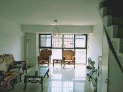 金地国际城A区 复式公寓 2室2厅 家具 家电全齐有钥匙
