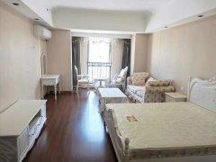 莆田万达广场 单身公寓 丘比特酒店一房一厅 欧式风格家电齐全