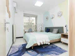 全新精装修主卧室呦地铁5号线2号线,超*超舒适哦