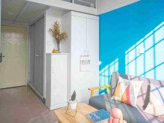 蔡塘精装复式阳光公寓,采光通风特别好,家具家电齐全1380元