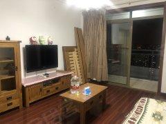 圣鑫苑高层景观房出租,78平大一房,精装保养好!