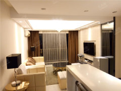 浩海明珠豪华装修 标准大两房 干净整洁!实行拎包入住!