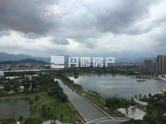 高层看碧湖!恒大御景半岛 精装两房 拎包入住 近万达广场!!