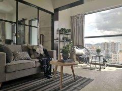 金山大道,精装独门独户单身公寓,采光一级棒,家具全新配齐