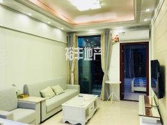 新推 荣盛中央广场 电梯一房一厅 全新装修 可望海