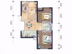 恒天广场2室-2厅-1卫整租