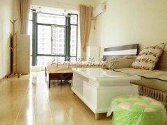 雪华中央国际公寓46平,家具、电器齐全,全天热水,拎包入住