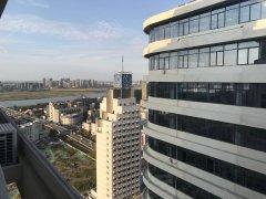 银河中心精装loft公寓 拎包入住  楼层好 户型朝东 采光