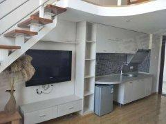 世纪城旁  大都摩天 跃层 精装公寓 带家具家电 生活方便