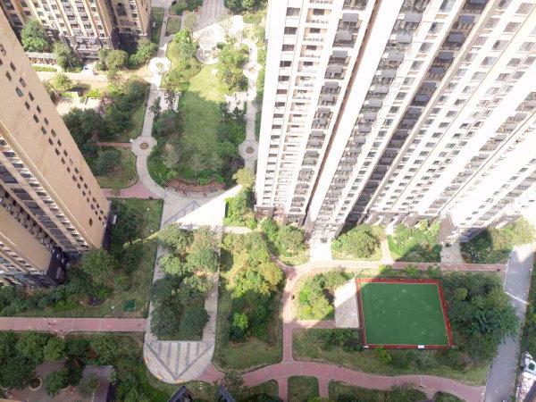 中建福地星城户型图实景图片
