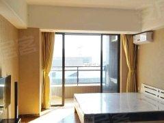 江南东汇城单身豪华公寓 智能锁开门 木质地板 家私家电齐全