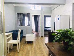 黄兴步行街 新青年公寓温馨 两房出租 可短租可月付 拎包即住