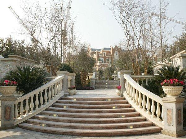 中海奥龙观邸别墅户型图实景图片
