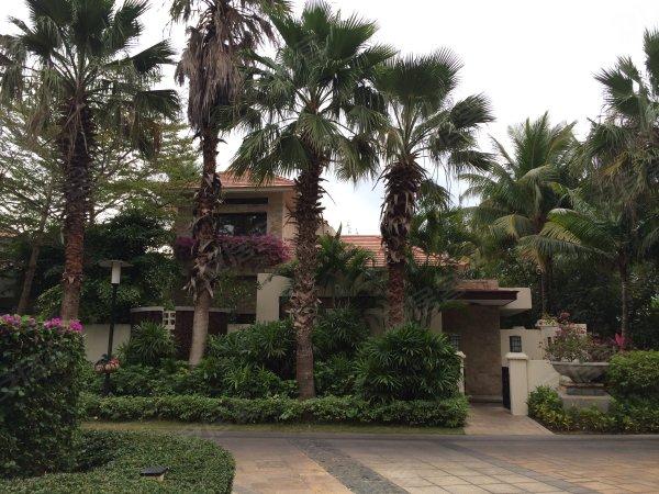 亚龙湾高尔夫维景度假别墅户型图实景图片