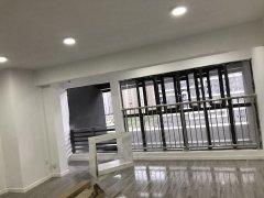 汉口城市广场loft 大面积 140平米 带办公家具可住册