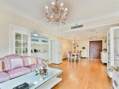 欧式装修风格,面宽舒适,户型方正,纯南向,财富中心涉外住宅