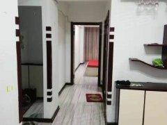 八道沟绸二新区 电梯18楼 73平精装地热 1000全包