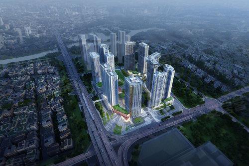 南二环大型城市综合体  绿地GIC价值解析
