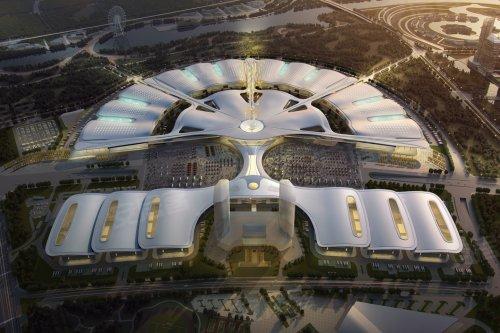 绿地国际博览城面积约108-155㎡健康大宅