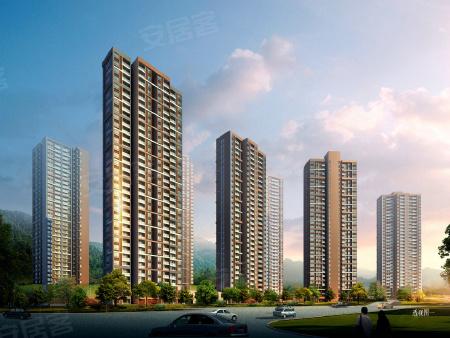 效果图:项目将沿江打造多动住宅楼栋,居住环境较好。
