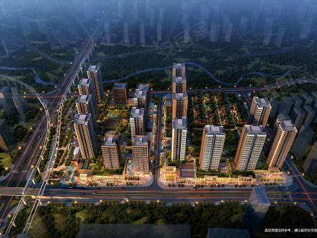 中国摩一期鸟瞰图