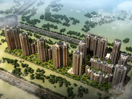 新中式的建筑风格辅以花园式缤纷庭院,开启城西花园生活。