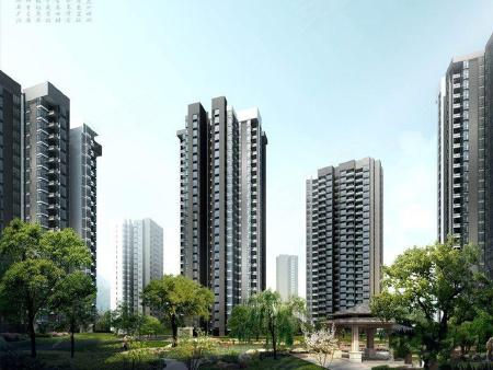 建设用地总面积约为164300平米,其中居住用地面积136800平米,商业金融用地面积27500平米。