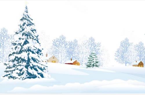 上热搜的雪景长什么样?