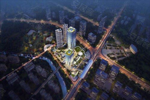 万达加持:特区建发乐府广场呈现双地铁商住佳作