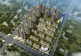 纺织城花园洋房社区 中国铁建花语城配套图解